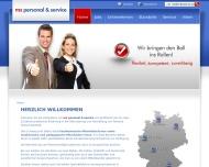 Bild MS Personal & Service GmbH - Arbeit auf Zeit -