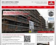Bild ARA Gerüstbau GmbH Gerüstbau
