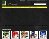 Bild Webseite EDEKA Dortmund