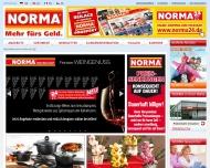 Bild Webseite Norma Köln