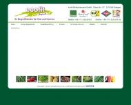 Bild Webseite Ecofit Biofruchtimport Stuttgart
