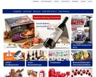 Bild Webseite Aldi Süd Kerpen
