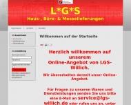 Bild Webseite Willich Dietmar Lebensmittel- u. Getränke-Service Frankfurt