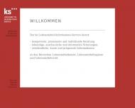 Bild Webseite KS Lebensmittelinformationsservice Stuttgart