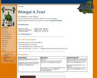 Bild Weingut/Heckenwirtschaft A. Fesel Inh. Stefan Fesel