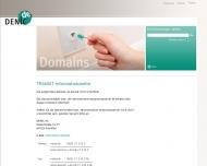 TRANSIT-Informationsseite www.denic.de