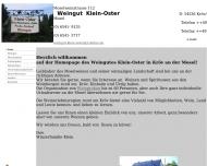 Bild Klein-Oster Hubertus , Monika Weingut