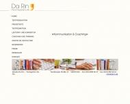 Website Textagentur Da Rin