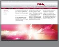 Website Achim Hegger Lichtwerbung
