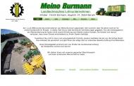 Bild Webseite Frerich Burmann Lohnunternehmen Berumbur