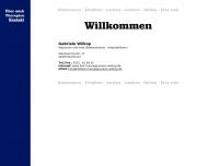 Website Wilkop Gabriele Massagepraxis
