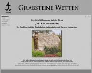 Bild Wetten Joh. Leo Marmorwerk u. Steinmetzbetrieb GmbH & Co Kommanditgesellschaft