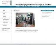 Bild Massagepraxis Schiffer Hartmut Krankengymnastik, Lymhdrainagen, Manuelle Therapie