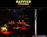 Website Rappich Systembau