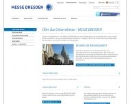 Website Messe Dresden