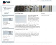 Website Andreas Christ Spedition und Möbeltransport