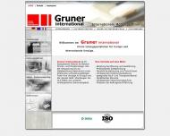Bild Webseite Gruner C. Nachf. Konstanz