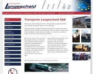 Bild Langescheid Logistic GmbH Logistikcenter