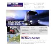 RELTRANS, europaweit und Internationale Spedition, Dienstleister