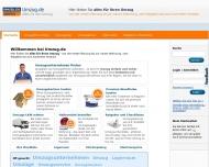 Bild Webseite Spedition A bis Z Umzüge Strohmann Nürnberg