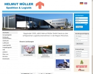 Bild Webseite Helmut Müller Gesellschaft München