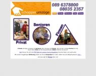 Website Schopper Spedition
