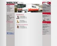 Website Alfred Wedlich und Nicolaus Ibel Umzug und Logistik
