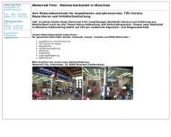 Motorrad Fritz M?nchen - Motorradwerkstatt, Inspektionen, T?V, Unfallinstandsetzung, Abholung