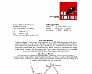 Website Rabe's Auto- und Motorradvermietung