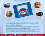 Bild Webseite Getränkefachgroßhandel Rach Gesellschaft Frankfurt