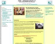Bild Webseite Museum Kindertagesstätten in Deutschland Kita-Museum Seeburg