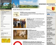Bild Webseite  Dischingen