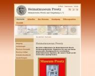 Bild Webseite Heimatmuseum Postfeld