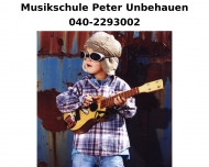 Website Musikschule Peter Unbehauen