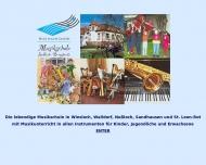 Bild Musikschule Südliche Bergstraße für Wiesloch, Walldorf, Nußloch, Sandhausen und St.Leon-Rot
