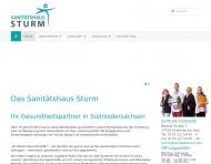 Website Sanitätshaus Otto Sturm