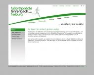 Website Sanitätshaus Walter Kratzer