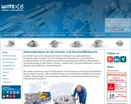 Bild Webseite Witte Pumps & Technology Tornesch