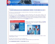 Bild Webseite Sondermann Pumpen + Filter Köln