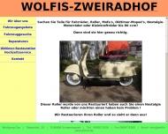 Wolfis-Zweiradhof in Schweinspoint Tel. 09097 1558