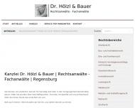Bild Rechtsanwälte Hölzl Dr. u. Bauer