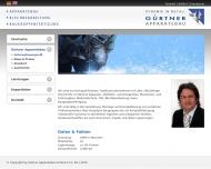Website Gürtner Verwaltung