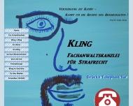Bild Webseite Rechtsanwalt Steffen M. Kling Mannheim