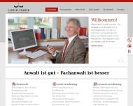 Bild Webseite Rechtsanwalt Matthias Cramer Hamburg