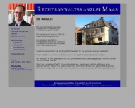Website Maas Hans-Peter