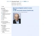 Bild Webseite Rechtsanwalt Alexander Koelle München