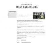 Bild Rechtsanwalt Hans-Karl Hassel