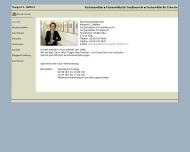 Bild Webseite Rechtsanwältin Margret E. Meffert Köln