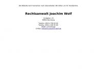 Bild Webseite Wolf Joachim Nürnberg