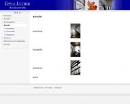 Website Anwaltskanzlei Epple, Luther Dr. u. Kollegen